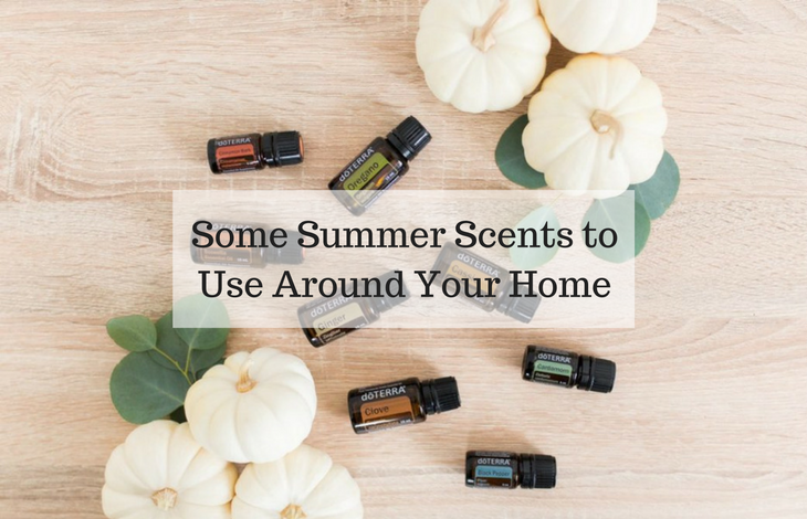 Some Summer Scents to Use Around Your Home
