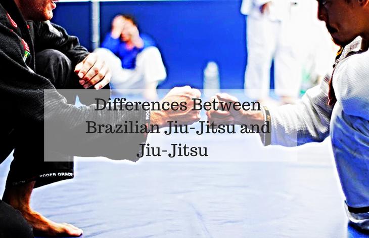 Differences Between Brazilian Jiu-Jitsu and Jiu-Jitsu