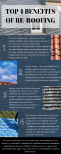 Top 4 Benefits of Re-Roofing